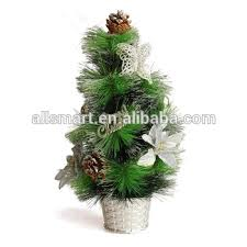Promotional Christmas Decoration Small Pine Branches Artificial Trees For Sale