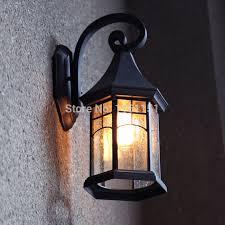 retro outdoor wall lights home design mannahatta us