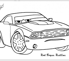 Cars 2 Coloring Pages Lightning Mcqueen Fun Color Page Printable