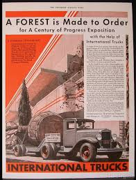 1933 International Trucks Chicago World Fair Century Of Progress ... Better Roads For A World Intertional Trucks Tractors Ad Chicago Huntley Il 847 6695700 1960s Advertisement Advertising Harvester Trucks Of Truck Hoods All Makes Models Medium Heavy Duty Cheap Truckss New Used Tow Vehicles Sale In Bridgeview Lynch Buffalo Road Imports Okosh 3000 Airport Fire Truck Fire In For On Craigslist 10 Cars Al Capone May Have Driven 1966 Ad Pickup Illinois