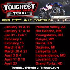 100 Monster Truck Oakland 2020 Schedule Announced
