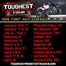 100 Monster Truck Oakland 2020 Schedule Announced