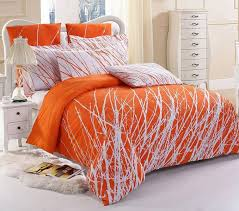 Bright Orange forter Sets stunning bright orange bedding set 76