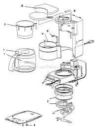 590x800 Mr Coffee PRX33 Parts List And Diagram