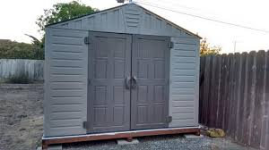 Keter Woodland Lean To Storage Shed by Us Leisure 10 Ft X 8 Ft Keter Stronghold Resin Storage Shed Resin