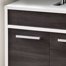 sheffield waschbeckenunterschrank badezimmer kiefer schwarz weiß