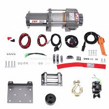 100 Atv Truck 3600LB 12V Car Electric Winch Wire Recovery Winch Towing Cables For