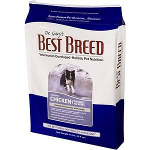 Dr. Gary's Best Breed Holistic Chicken with Vegetables & Herbs Dry Dog Food 15-lb