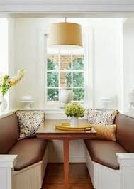 Eat In Kitchen Booth Ideas by This Reminds Me Of A Table And Three Chairs That I Once Had And