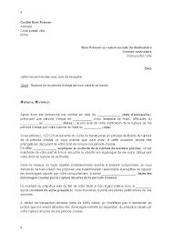 periode d essai cadre lettre de contestation de la rupture de la période d essai pour