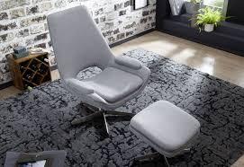 wohnling relaxsessel sonja hellgrau wl5 802 aus stoff und