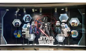 Star Wars Descend On Maxs Store Windows