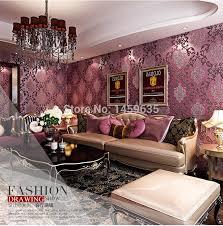 luxus moderne 3d embosswed hintergrundbild für wohnzimmer rosa blau creme weiß tapetenbahn wand papier papier peint