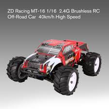 100 Big Remote Control Trucks ZD Racing MT 16 116 Scale 24G 40kmH High Speed Brushless Off Road