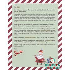 Santa Letter 19 Stickers Lillian Vernon