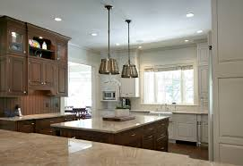 bainbrook brown granite kitchen traditional with ceiling lighting