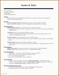 Sample Resume Medical Surgical Registered Nurse Lovely Templates Rn Career