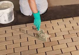 thin brick floor installation royal thin brick