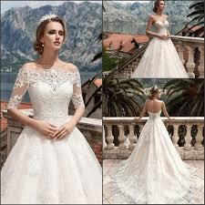 discount modest vestido de novia 2017 sweetheart full lemgth
