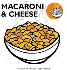 Mac And Cheese Clipart Vector Illustration Macaroni And Cheese Csp Search Coloring Pages Free Printable