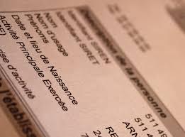 declaration auto entrepreneur chambre des metiers auto entrepreneur réception du numéro siret après inscription