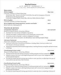 Graduate Teacher Assistant Resume