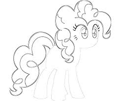 My Little Pony Coloring Pages Rarity In Dress Baby L