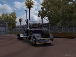 100 18 Wos Haulin Truck Mods W900a American Simulator Mods Part 2