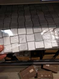 Glass Tile Over Redguard by Can I Use Marble Tile On A Shower Floor Home Improvement Stack