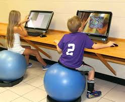 Stability Ball Desk Chair by Exercise Ball At Office Desk U2013 Netztor Me