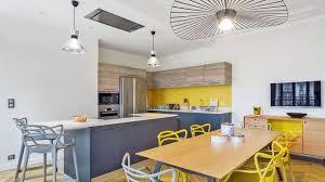 cuisine sur salon amenagement cuisine ouverte sur salle a manger choosewell co
