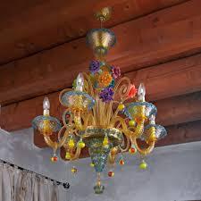 fruttini murano glass chandelier murano glass chandeliers
