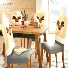 Dining Table Chair Covers Deer Hat Elk Cap Cover