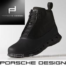 Adidas Porsche Design Shoes Mens Black Warm Snow Bounce Winter