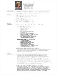 English Sensational Template Rhmtcopticsus Ormatorresher Pdf School Teacheriletype Rhbrackettvilleinfo Sample Resume Format For Teachers Doc