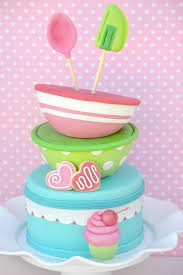 Cupcake Baking Birthday Party Printables Supplies Decorations