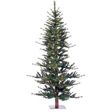 Minnesota 7 Green Pine Artificial Christmas Tree With 300 Dura Lit Clear Lights Stand