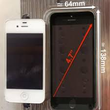 iPhone 6 dimensions 4 7 inch model confirmed by manufacturing mold
