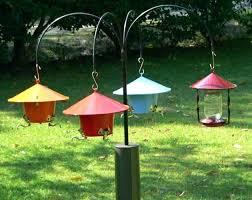 Bird Feeders A Pole Bird Feeder Pole Deck Clamp – lecs