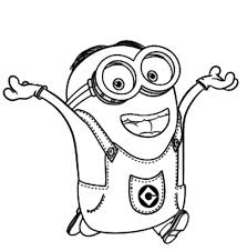 The Minions Coloring Pages And On Pinterest Within Free Printable Minion Pertaining To