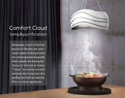 comfort cloud l lights up your kitchen and purifies cooking