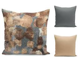 Decor With Throw Pillow Neutral Covers Grey Tan Brown Home Accent Cover