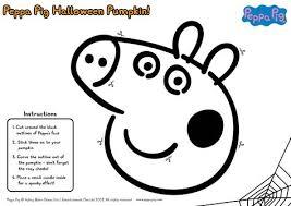 Peppa Pig George Pumpkin Stencil by Peppa Pig Pumpkin Stencil Carving This On Our Pumpkin Right Now