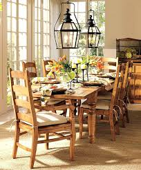 Dining Room Table Centerpieces Candles Vintage Style Decor Design Ideas Pottery Barn