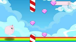 Pink Fluffy Unicorn Dash 560 Screenshot 3