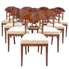 Set Of 12 Empire Mahogany Dining Chairs - Bonnin Ashley Antiques ... Baroque Ding Chair Black Epic Empire Set Of 6 Swedish Bois Claire Chairs 8824 La109519 Style Maine Antique Fniture Ruby Woodbridge Arm Stephanie Side Shown In Oak With An Asbury Brown Finish Amish 19th Century Walnut Burl Federal Cane Seat Six Gondola Barstool 210902427 Barchairs And Leather The Khazana Home Austin Crown Mark 2155s Upholstered Casa Padrino Luxury Armrests