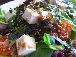 Japanese Pumpkin Salad Recipe by Food Endeavours Of The Blue Apocalypse Japanese Tofu Salad