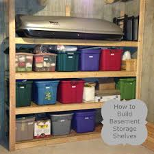 building wood shelves for basement friendly woodworking projects