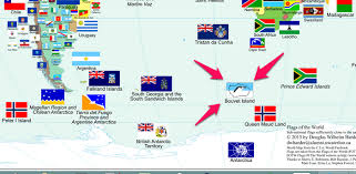 Map With Over 800 Flags Of The World Vexillology Antarctic On