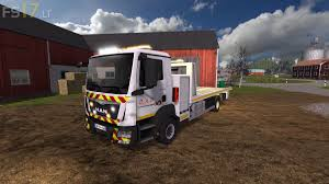 100 Tow Truck Simulator MAN TGM V 10 FS17 Mods